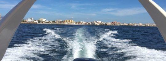 Motorboottour